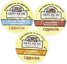 Grove Square Cappuccino Variety Pack, 72 Single Serve Cups 0.53 Oz
