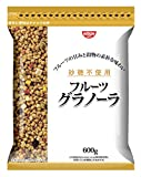 【Amazon.co.jp限定】日清シスコ 砂糖不使用 フルーツグラノーラ 600g×8袋