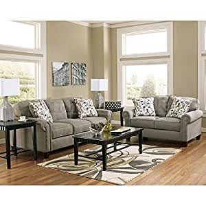 Ashley Furniture Industries Gusti Stationary Living Room Set Includes 1 Sofa 1