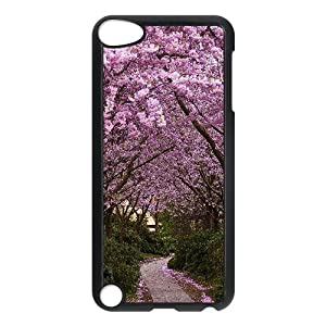 Amazon.com : Vinceryshop Peach Path Ipod Touch 5 Cases for Teen Girls