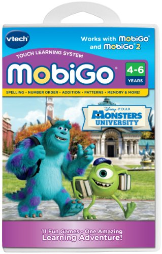 VTech MobiGo Software - Monsters University
