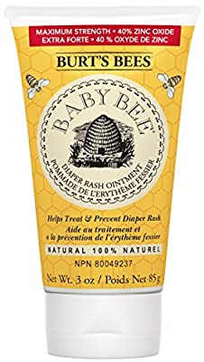 Burt's Bees Baby Bee 100% Natural Diaper Ointment, 3 Ounces