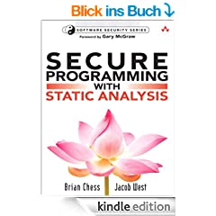 Secure Programming with Static Analysis: Getting Software Security Right with Static Analysis