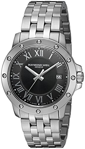 Raymond Weil Men's 5599-ST-00608 Tango Stainless Steel Case and Bracelet Grey Dial Watch