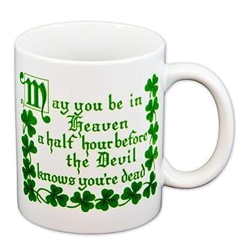 Heavenly Blessings Mug Irish Blessing Coffee Mug