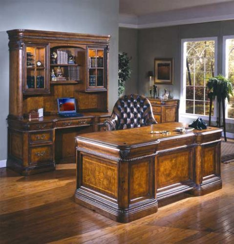 Bon Vineyard Italian Style Executive Desk Home Office Computer Furniture