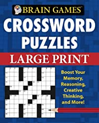 9781412777612: Brain Games Crossword Puzzles Large Print (Brain Games (Unnumbered))
