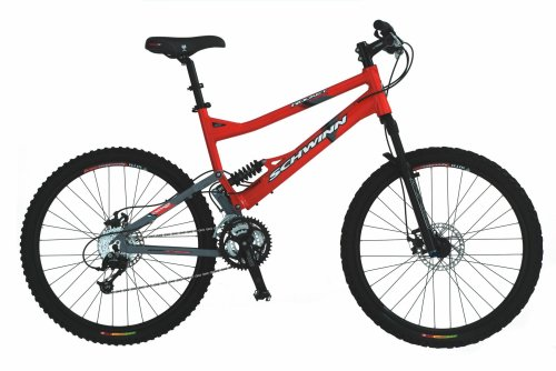 Schwinn Rocket Comp Adult Dual-Suspension Mountain Bike (26-Inch Frame)