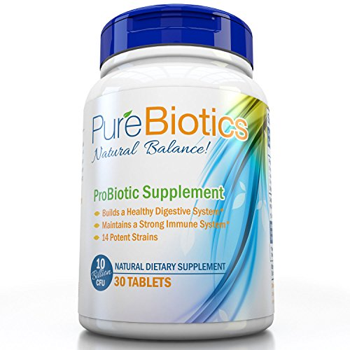 Best Probiotics Supplement: Purebiotics One a day Small Capsule-Formulated with 7 of the Most Essential Strains & Over 5 Billion CFU's, Designed to Improve Digestion & Boost Immunity for Men,Women & Kids