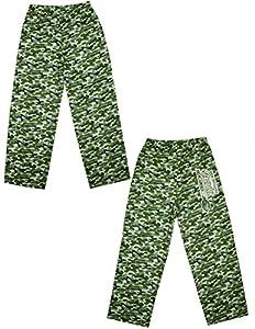 NFL Jugend New England Patriots Nachtwäsche / Pyjama-Hosen 10/12 flecktarn