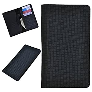 DCR Pu Leather case cover for Lenovo A310 (black)