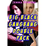 Big Black Gangbang Double Pack (Two Interracial Gangbang Stories)