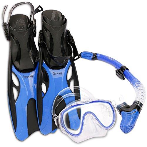 oxa-scuba-tauch-schnorchel-set-mit-trockenschnorchel-und-maske-mit-glasfenster-sowie-schwimmflossen-