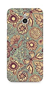 Amez designer printed 3d premium high quality back case cover forInfocus M2 (vintage pattern abstract )