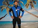 New 2 Piece 7 Mm Farmer John Style Wetsuit, Size 2 Xl, Surf, Dive, Sucba, Gold Dredge #6900