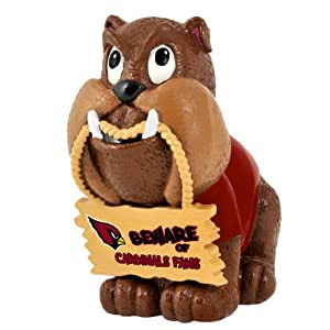 NFL Arizona Cardinals Bulldog Holding Sign by Forever Collectibles