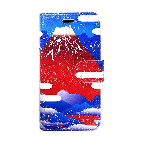 iPhone6/6sスマホカバー 手帳型 あかふじ