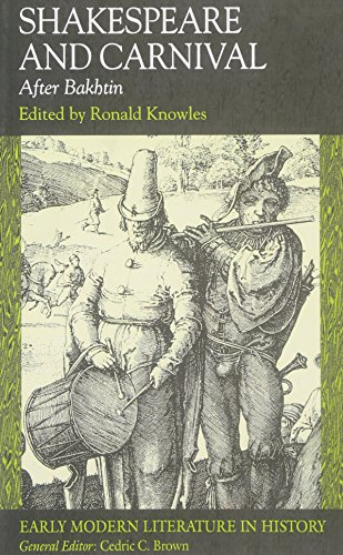 bakhtins theory of the carnival english literature essay This essay is an analysis of shakespeare's as you like it in relation to notable literary critic mikhail bakhtin's theory of carnival and carnivalesque literature.
