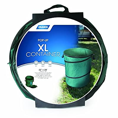 "Camco 42895 XL Collapsible Container (22"" x 28"")"