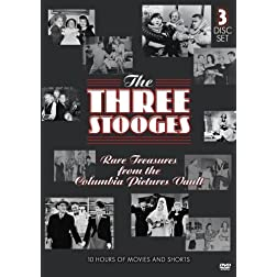 The Three Stooges - Rare Treasures From The Columbia Pictures Vault