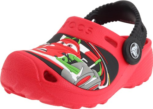 Deal Crocs Cars 2 Custom Clog (Toddler/Little Kid),Red/Black,8-9 M US Toddler Reviews