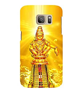 Lord Ayyappa 3D Hard Polycarbonate Designer Back Case Cover for Samsung Galaxy S7 :: Samsung Galaxy S7 Duos G930F