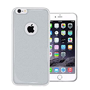 Seeme Iphone 6 Case , [Scratch Resistant] **Clear** [Epoxy Series] Apple Iphone 6 4.7 Inch Hybrid Bumper Case Cover (White/Clear)