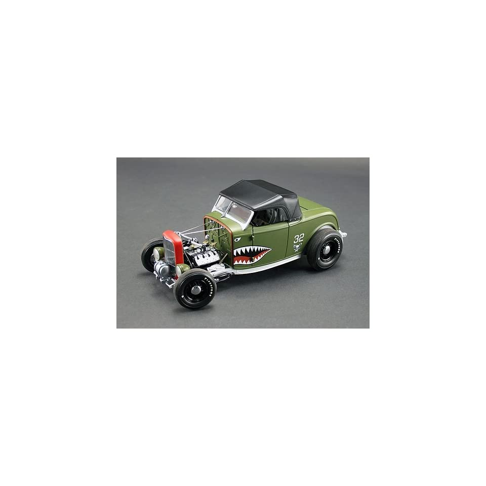 Replicarz GMP1805022 1932 Ford Aero Rat Rod Toys & Games