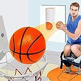 Mini Toiletten Basketball Set für Klo & WC - Basketballkorb...