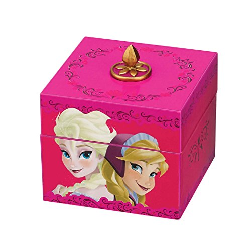Mr. Christmas Disney Frozen Musical Keepsake Princesses, Pink