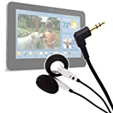 Headphones With High Quality Sound For The Viewsonic ViewPad 7/7e, gTablet & Viewpad 7x Tablets, By DURAGADGET