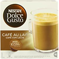 Nescaf� Dolce Gusto Caf� Au Lait (Pack of 3, Total 48 Capsules/Coffee Pods)