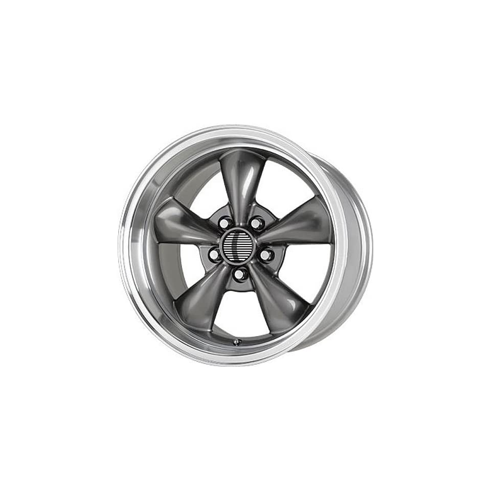 Wheel Replicas V1119 18 Gray Wheel / Rim 5x4.5 with a 45mm Offset and a 70.6 Hub Bore. Partnumber V1119 816545S