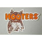 HOOTERS ロゴ風ステッカー