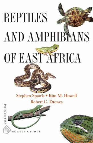 Reptiles and Amphibians of East Africa (Princeton Pocket Guides)