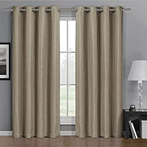 96 Inch Grommet Top Curtains 45 Inch Blackout Curtains
