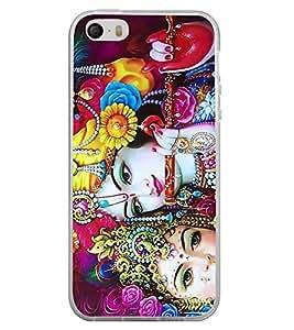 Radha Krishna 2D Hard Polycarbonate Designer Back Case Cover for Apple iPhone 4