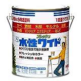 ニッペ 多用途塗料 水性フレッシュワイド ミルキーホワイト 1.6L