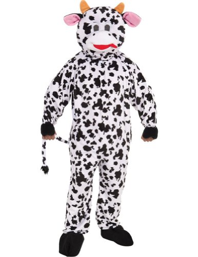 Cow Adult Mascot Costume Adult Mens Costume