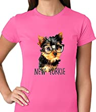 BeWild Brandreg - New Yorkie Funny Ladies T-shirt