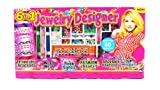 6-in-1 Deluxe Fashion Designer Toy Jewelry Making Set, Comes w/ Variety of Assorted Beads and Charms, String