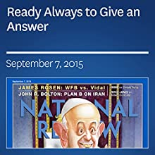 Ready Always to Give an Answer (       UNABRIDGED) by David French Narrated by Mark Ashby