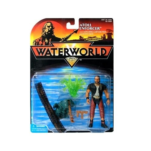 Waterworld Atoll Enforcer Action Figure - 1
