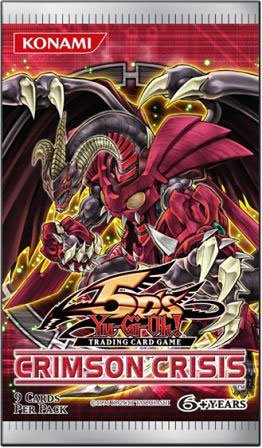 Yu Gi Oh Yugioh Ccg 5D'S Crimson Crisis Booster Pack - 1