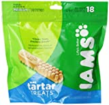 Iams Tartar Treats For Medium Dogs, 18-Count Treats