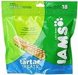 IAMS Tartar Treats for Medium Dogs, 18-Count Treats
