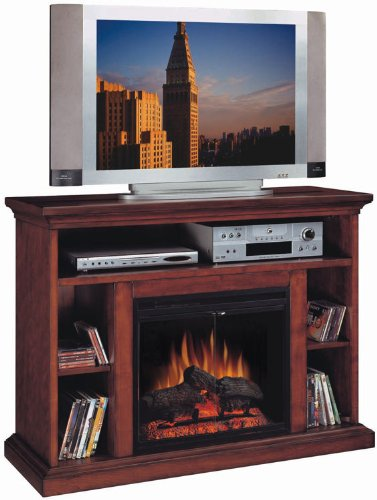 Beverly Cherry Home Theater with Electric Fireplace by Classic Flame image B003BFHDHY.jpg