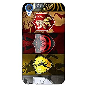 Jugaaduu Game Of Thrones GOT Back Cover Case For HTC Desire 820