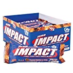 VPX Zero Impact Protein Meal Replacement Bar, Peanut Butter & Jelly, 3.5-Ounce Bars (Pack of 12)
