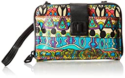 Sakroots Artist Circle Smartphone Cross Body Bag, Radiant One World, One Size